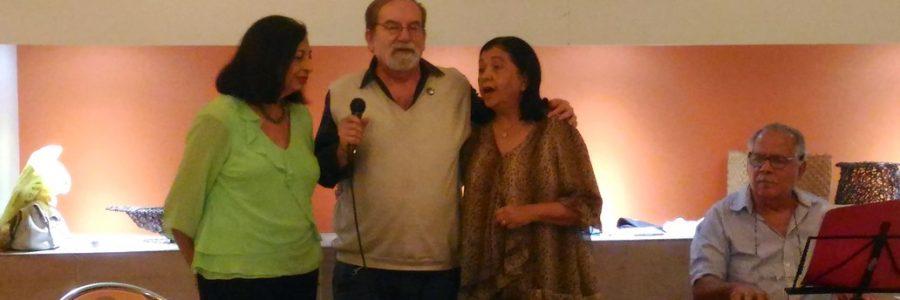 Companheirismo Rotary com Ivone Saccheto e Maestro Pedras